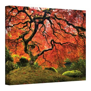 36'' x 48'' ''Japanese Tree'' Large Canvas Wall Art by John Black