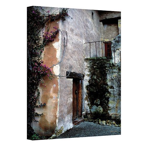 48'' x 32'' ''Mission Bougainvillea'' Canvas Wall Art by Kathy Yates