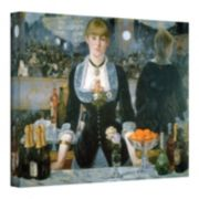 18'' x 24'' ''Folies Bergere'' Canvas Wall Art by Manet