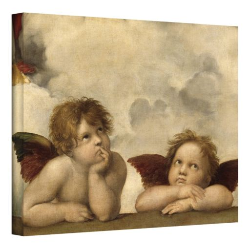 14'' x 18'' ''Cherubs'' Canvas Wall Art by Raphael