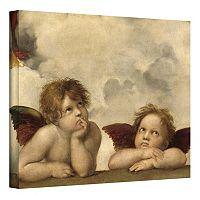 36'' x 48'' ''Cherubs'' Canvas Wall Art by Raphael