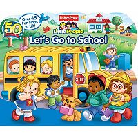 Fisher-Price Little People Let's Go to School Book