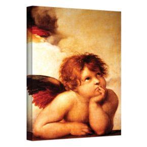 18'' x 14'' ''Cherub'' Canvas Wall Art by Raphael