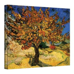 14'' x 18'' ''Mulberry Tree'' Canvas Wall Art by Vincent van Gogh