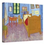 14'' x 18'' ''The Bedroom'' Canvas Wall Art by Vincent van Gogh