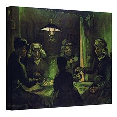18'' x 24'' ''The Potato Eaters'' Canvas Wall Art by Vincent van Gogh