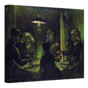 24'' x 32'' ''The Potato Eaters'' Canvas Wall Art by Vincent van Gogh