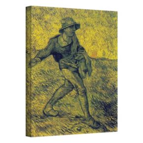 18'' x 14'' ''The Sower'' Canvas Wall Art by Vincent van Gogh