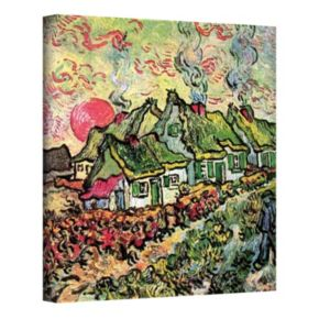 "24'' x 18'' ""Cottages Reminiscent of the North"" Canvas Wall Art by Vincent van Gogh"