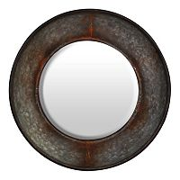 Natural Home Round Wall Mirror