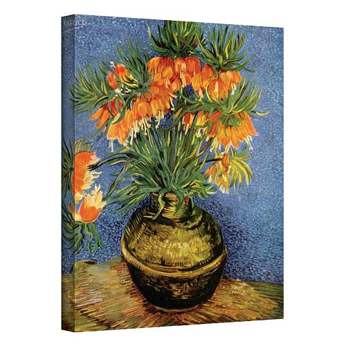 48'' x 36'' ''Fritillaries'' Canvas Wall Art by Vincent van Gogh