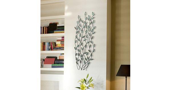 Kohls Metal Wall Decor : Stratton home patina leaves metal wall decor