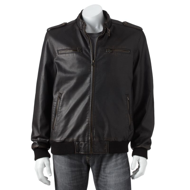 Kohls leather jackets