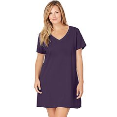 Plus Size Jockey Pajamas: Modern Cotton Sleep Shirt