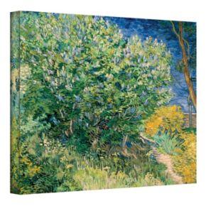 """14'' x 18'' """"Lilacs"""" Canvas Wall Art by Vincent van Gogh"""