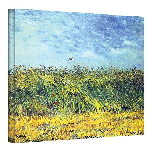 """18'' x 24'' """"Wheat Field with a Lark"""" Canvas Wall Art by Vincent van Gogh"""
