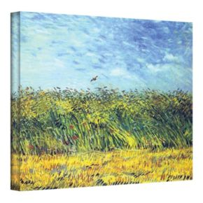 """36'' x 48'' """"Wheat Field with a Lark"""" Canvas Wall Art by Vincent van Gogh"""