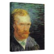 "18'' x 14'' ""Self Portrait"" Canvas Wall Art by Vincent van Gogh"