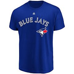 Men's Majestic Toronto Blue Jays Official Wordmark Tee