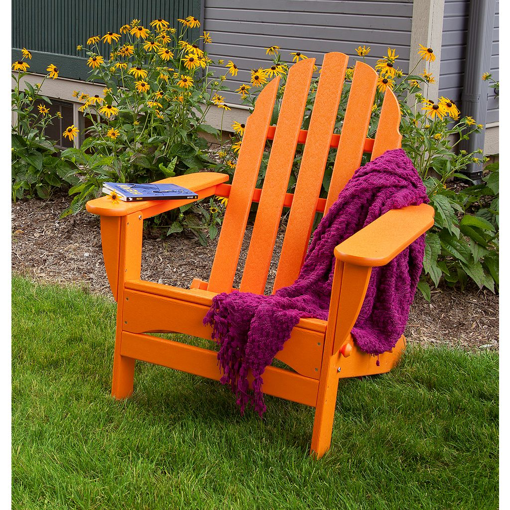 POLYWOOD Classic Folding Adirondack Chair - Outdoor