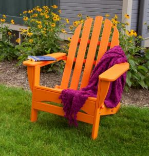POLYWOOD Classic Folding Adirondack Chair - Outdoor