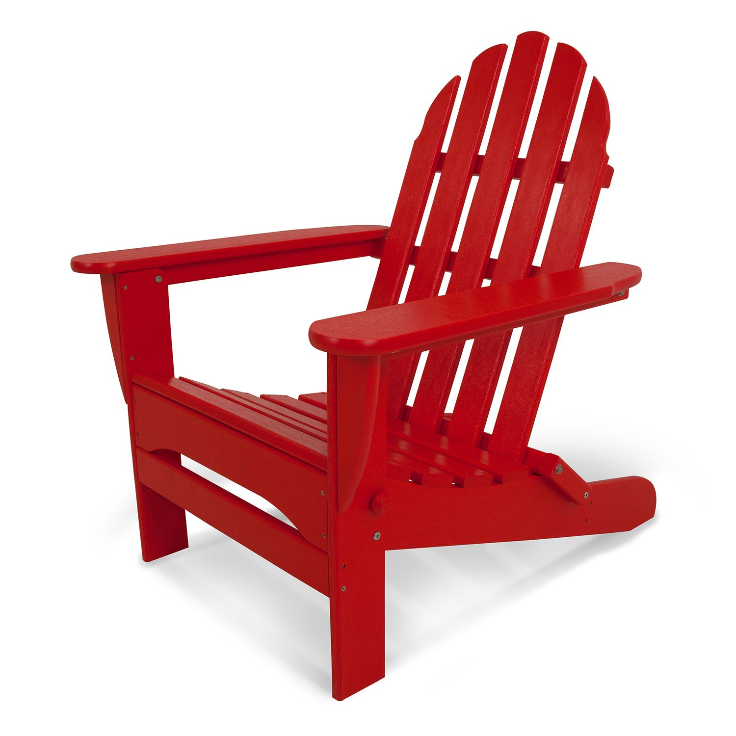 POLYWOOD® Classic Folding Adirondack Chair   Outdoor