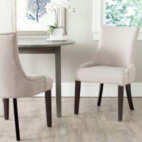 Safavieh 2-pc. Gretchen Linen Side Chair Set