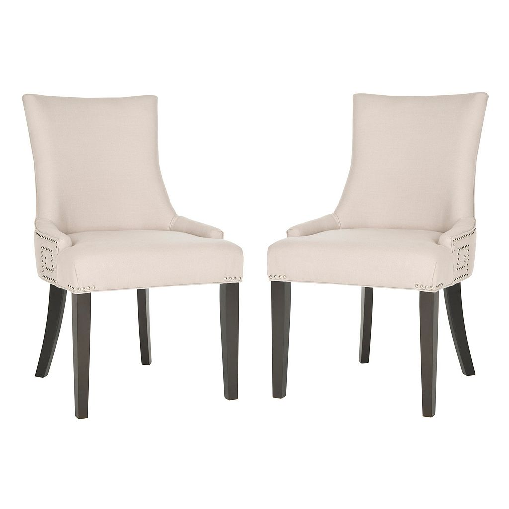 Safavieh 2-pc. Gretchen Linen Side Chair Set