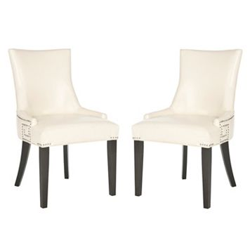 Safavieh 2-pc. Gretchen Bicast Leather Side Chair Set