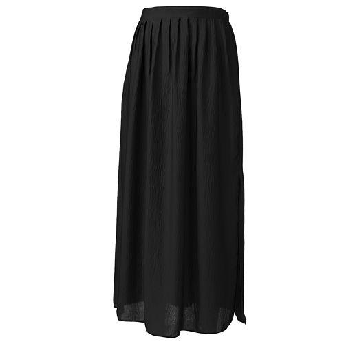 d370506ac5 Petite Apt. 9® Pleated Crinkle Maxi Skirt