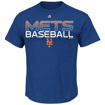 Men's Majestic New York Mets Game-Winning Run Tee