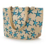 Jute Bags Hampton Starfish Jute Shopper