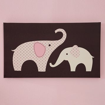 Carter's Elephant Wall Decals - Pink