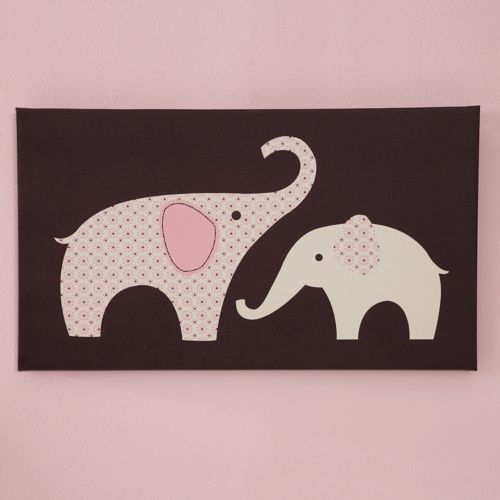 Carter's Elephant Wall Decals – Pink