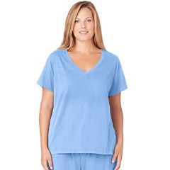 Plus Size Jockey Pajamas: Modern Cotton Pajama Tee