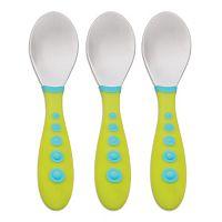 Gerber Graduates 3-pk. Kiddie Cutlery Spoons by NUK
