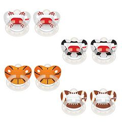 NUK 8 pkSports Orthodontic Pacifiers
