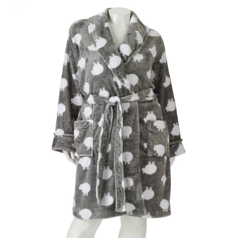 SONOMA life + style Plush Wrap Robe - Women's Plus