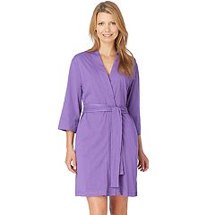 Women's Jockey Modern Cotton Wrap Robe