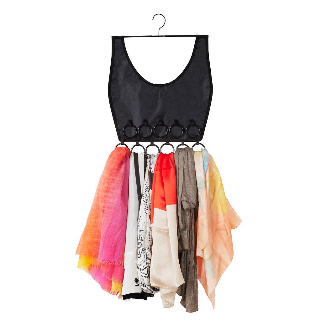Umbra Boho Dress 16-Ring Scarf Hanger Organizer