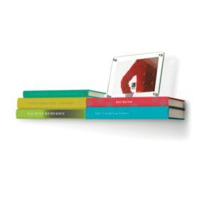 Umbra Conceal Double Floating Bookshelf