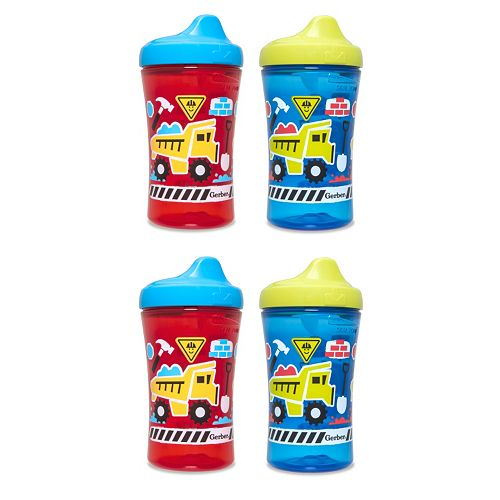 Gerber Graduates 4-pk. 10-oz. Advance Sippy Cups by NUK