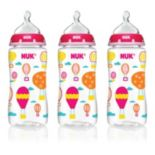 NUK 3-pk. 10-oz. Core Medium Flow Orthodontic Bottles
