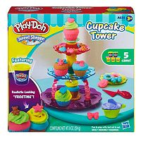 Play-Doh Sweet Shoppe Cupcake Tower Playset by Hasbro