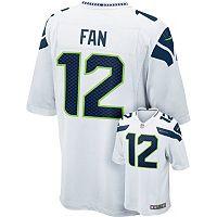 Men's Nike Seattle Seahawks Fan Game NFL Replica Jersey