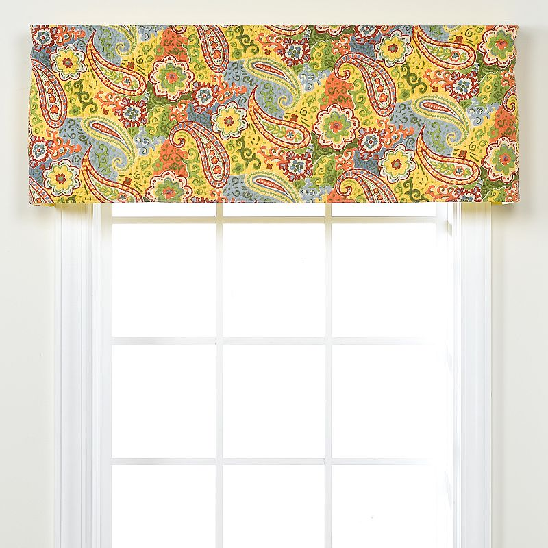 Bedroom floral window treatment kohl 39 s for 18 x 60 window