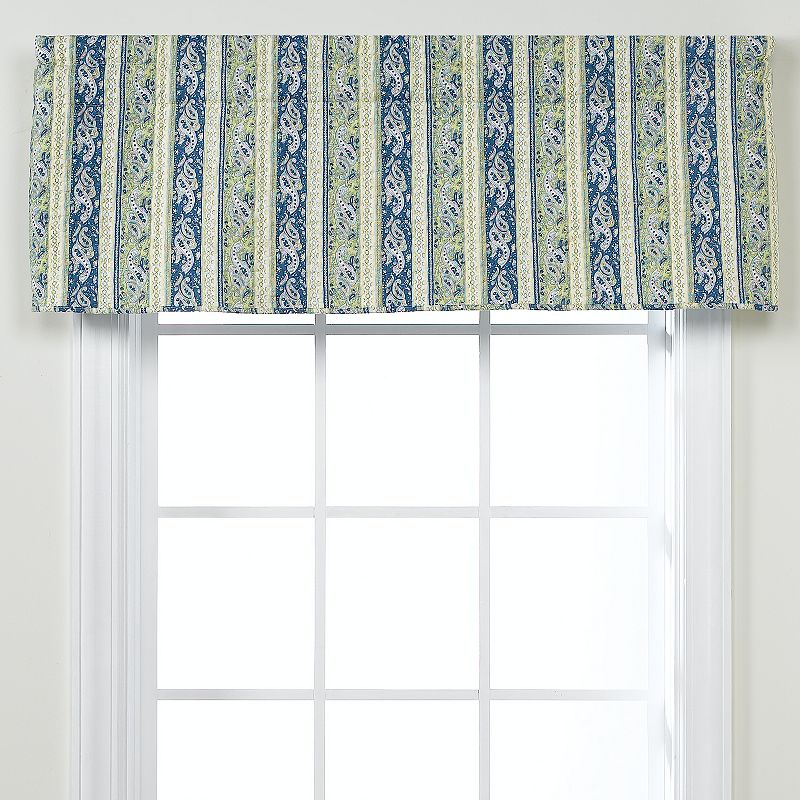 Blue window valance kohl 39 s for 18 x 60 window