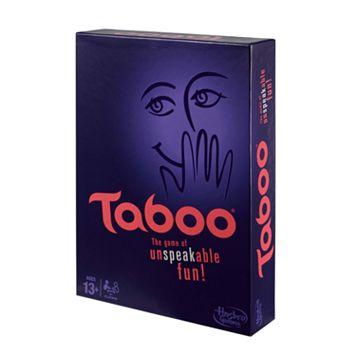 Taboo Game by Hasbro