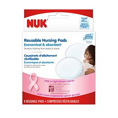 NUK 8 pkReusable Nursing Pads