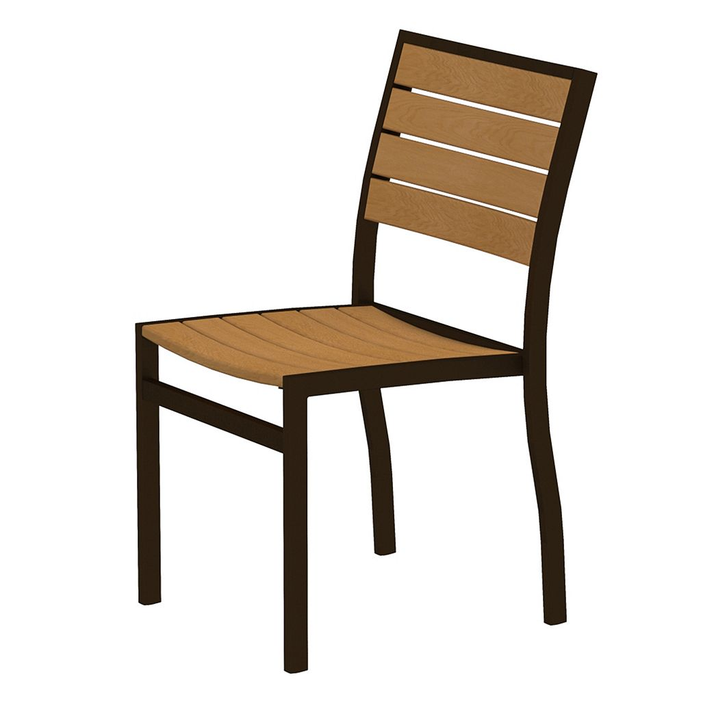 POLYWOOD® Euro Side Chair - Outdoor